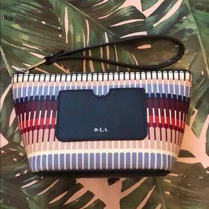 Ralph Lauren cosmetic bag NWT